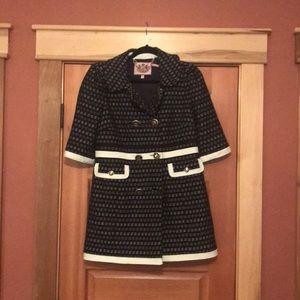 Juicy couture short sleeve jacket